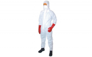 Combinezon de protectie TUFFSAFE, GUARD MASTER, alb, marime XL
