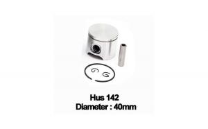 Piston complet Husqvarna: 141, 142 (40mm) -