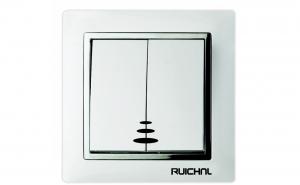 Intrerupator dublu cu LED Ruichnl RC-3603