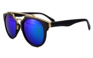 Ochelari de soare Passenger ZS Albastru cu reflexii - Negru