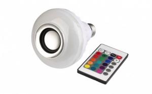 Boxa-Bec bluetooth LED, jocuri de lumini si telecomanda