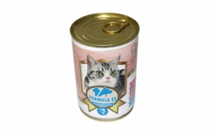 Hrana umeda pentru pisici, Formula ES, Peste, conserva 415 g