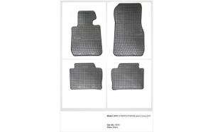 Covoare cauciuc BMW F30 / F31 / F35 seria 3 2011-> ( 0670 -  P30 )
