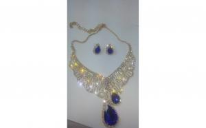 Set bijuterii Shine Blue Crystal