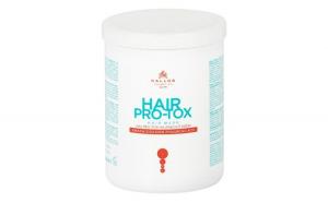 Mască de păr pro-tox cu cheratină, colagen şi acid hialuronic Kallos KJMN 1000 ml