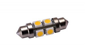Bec 8 LED SMD SOFIT 36MM 5050 12V ALBA