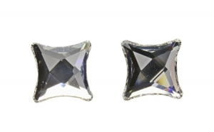 Cercei Starlet, Cristal, Argint 925,