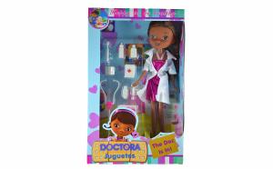 Papusa Doctorita Plusica - cu accesorii, Sarbatori Pascale, Pentru copii