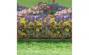 Gard pentru strat de flori / gazon