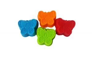 Forma din silicon in forma de fluture, Set 10 bucati, 71COF