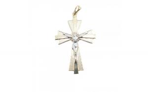 Cruciulita placata cu aur Castiel