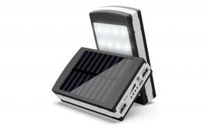 Baterie externa - Power Bank 20000 mah - incarcare solara