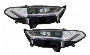 Set 2 faruri LED DRL compatibil cu FORD Mondeo MK5 (2013-2016) Semnalizare Secventiala Crom