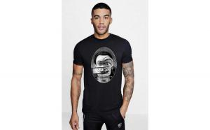 Tricou barbati negru - Dali - The