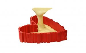 Set 4 piese silicon  Bake Snake pentru a crea cele mai deosebite forme de tort si prajituri