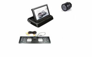 Set monitor rabatabil camera fata/spate