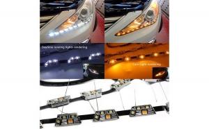 Set 2 bucati banda LED-DRL premium L10FLOW cu semnalizare dinamica