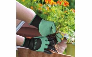 Manusi pentru gradina, rezistente la apa, cu gheare pentru sapare si plantare