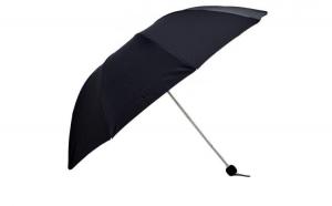 Umbrela Dama, pliabila, neagra, 110cm diametru, articulatii duble pentru rezistenta anti-vant la doar 22.99 RON