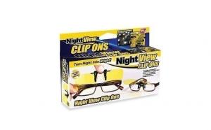 Lentile clips polarizate pentru condus pe timp de noapte