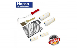 Set pentru zugravit rezerve si gratar 7 piese   Hansa 997021