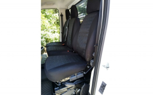 Husa auto dedicate 2+1 FIAT DUCATO 2006-> FRACTIONATE. Calitate Premium
