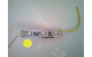 Modul 3 SMD 5050 24V lumina galbena