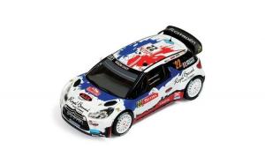 Macheta Auto IXO, CITROEN DS3 WRC #22