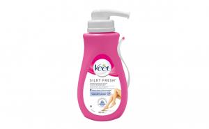Crema depilatoare Veet Silky Fresh pentru piele sensibila, 400 ml