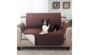 Husa protectie pentru canapea in 2 culori reversibila
