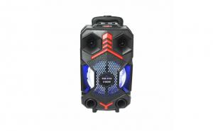 Boxa portabila, ZQS-8102, 20W, Bluetooth FM/SD/USB/AUX/, Negru