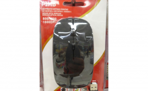 Mouse optic wireless 1600 DPI