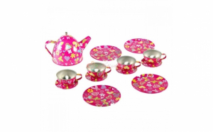 Set ceai metalic 14 piese