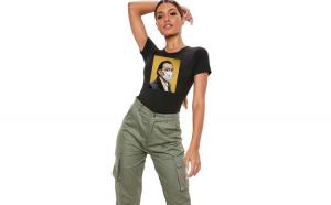 Tricou dama negru - Dali in Pandemie