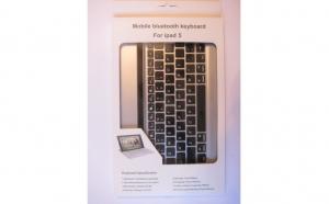 Tastatura Bluetooth Mobile pentru Ipad 5 - Taste negre, la doar 96 RON in loc de 199 RON