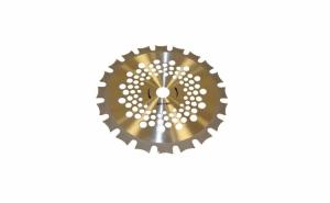 Disc circular cu dinti Vidia Dubla, 255 x 25.4 x 40T pentru iarba