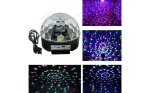 Glob luminos LED Magic ball MP3
