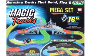 Pista luminoasa Magic Tracks 360 piese