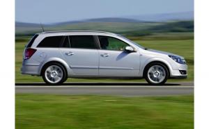 Husa auto dedicate OPEL ASTRA H BREAK FRACTIONATE. Calitate Premium
