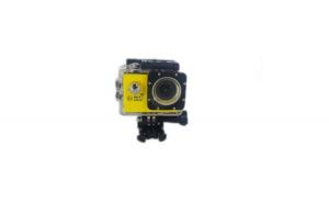 Camera sport full HD-Wi-FI,1080P FULL HD, galbena + Cadou