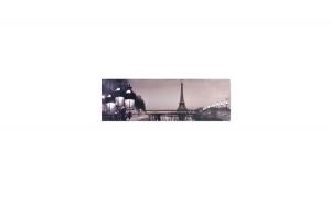 Canvas iluminat cu LED PARIS 90x30 cm, Decoratiuni Casa