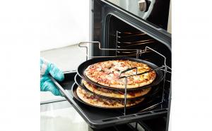 Set Tower tava Pizza pentru cuptor,  6 piese