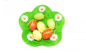 Farfurie din paie pentru ouale de Paste, la 27 RON