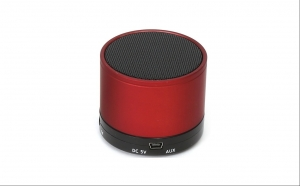 Boxa portabila OMEGA cu Microfon, Bluetooth, AUX, microSD, Rosu, la doar 59.9 RON in loc de 99.9 RON