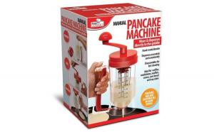 Aparat manual de preparat clatite, biscuiti, fursecuri si alte prajituri - Pancake Machine