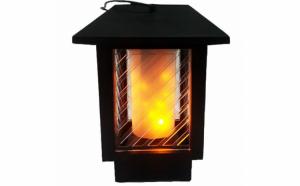 Felinar-Lampa Solara LED efect flacara, Pasiune pentru gradinarit, Decor si amenajare