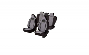 Huse scaune auto OPEL ZAFIRA B 2005-2010  dAL Racing  Gri/Negru,Piele ecologica + Textil