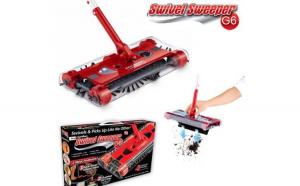 Matura rotativa electrica fara fir Swivel Sweeper G6 Pro