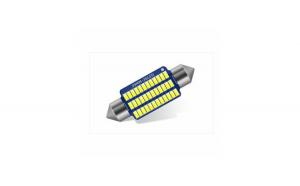 Bec auto LED SOFIT 11X36 3014 cu 30 SMD ALB 12V CANBUS JSUN24 ( pret pe set )