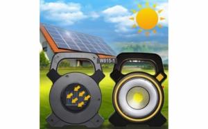 Lanterna solara de lucru cu LED